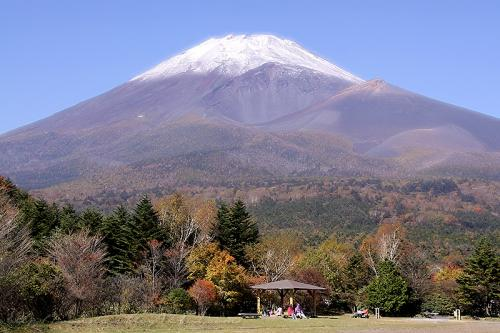 富士山二合目からの富士山
