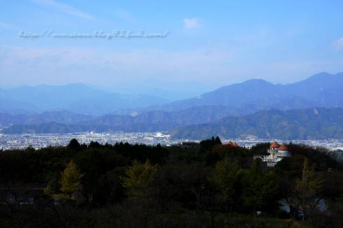日本平から静岡市