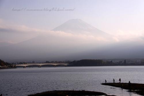 河口湖からの富士山01
