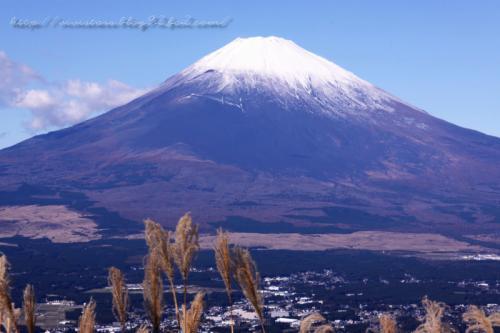 伊豆スカイラインから富士山