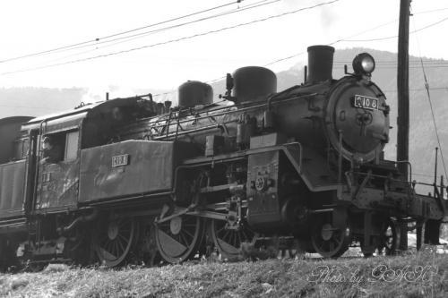 蒸気機関車C10 8