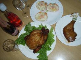2009クリスマスディナー