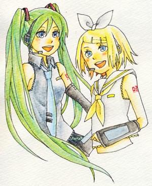 ミク&リン