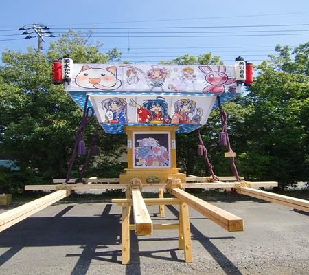 lucky 2009Ver mikoshi 01 20090906_R
