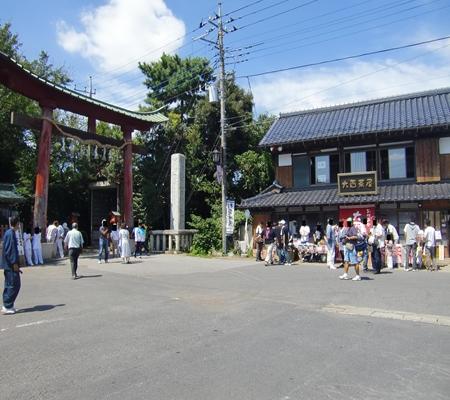 washimiya jinjya mae 20090906 02_R