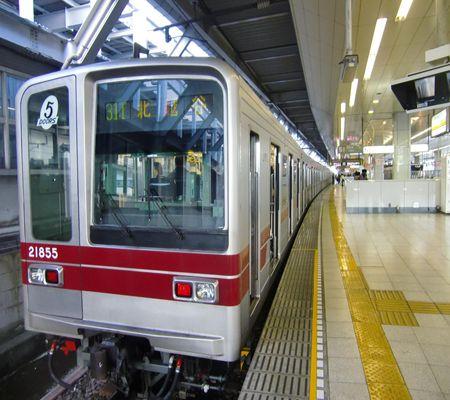 hibiya line tobu line kita senjyu 20091231_R