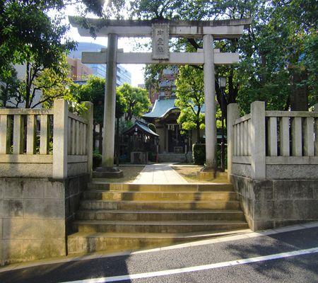 bunkyo ku yushima 2chome area jinjya 20090817_R