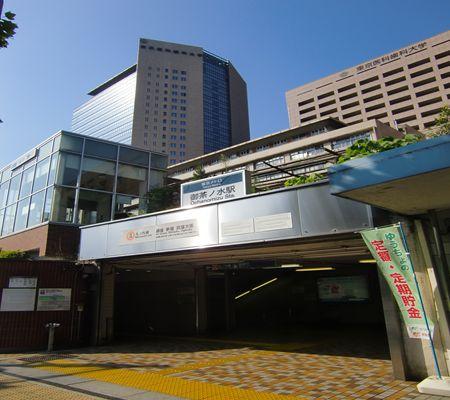 tokyo metro ochanomizu sta clear blue 20090817_R
