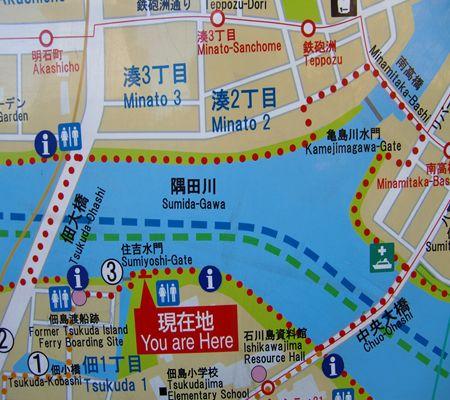 chuo ku tsukishima tukuda area map 20100205_R