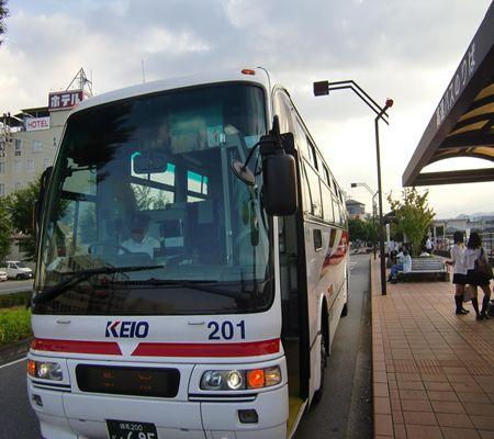 jr iida sta mae bus keio to shinjuku 20090825_R