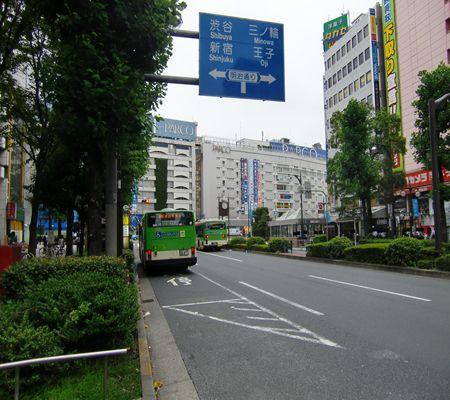 ikebukuro sta higashiguchi sta high way bus seibu 20090902_R