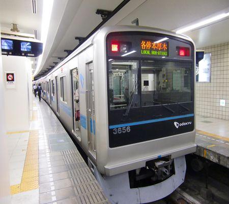 odakyu line local  shinjuku sta 20100509_R