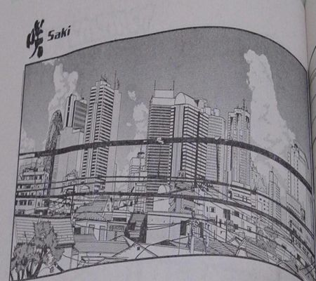 saki spot part64  train window  saki p259 up koma YG no10_R