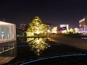 tokyo midtown night light up 20101201 01_R
