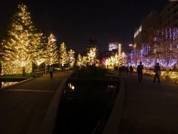 tokyo midtown night light up 20101201 02_R