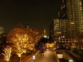 tokyo midtown night light up 20101201 07_R