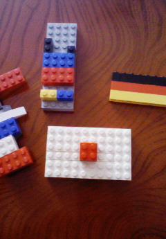 風雅のレゴブロック