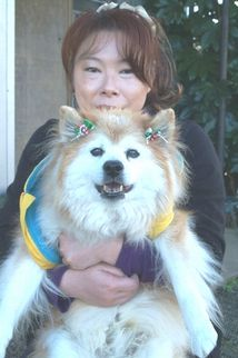 プースケと篠原由美子さん