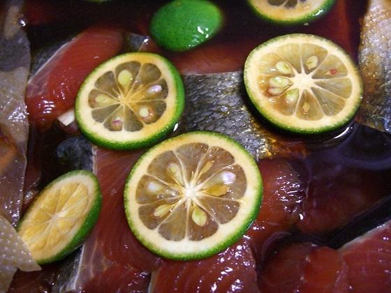 鮭の柚庵焼