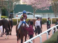 レース後:クリアンサスと国分恭介騎手