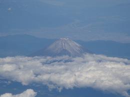 ※富士山(飛行機より)