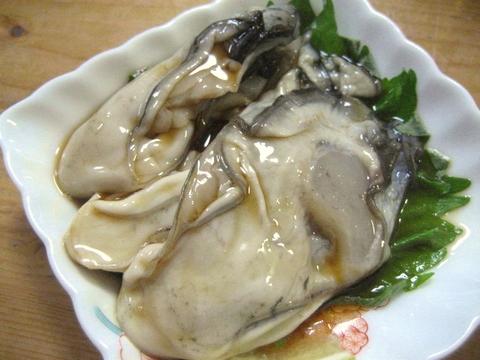 生牡蠣ぷるぷる?