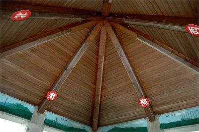 天井には方角が・・・