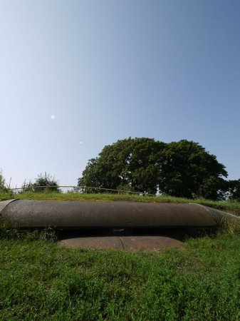 旧防護堰跡地画像?