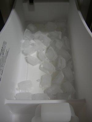 ちゃんと バラバラの氷が出来た?♪