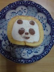 パンダちゃんのケーキ