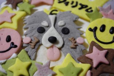 ウィリアム似顔絵ケーキ