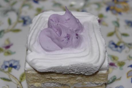 1.紅イモと豆乳のショートケーキ