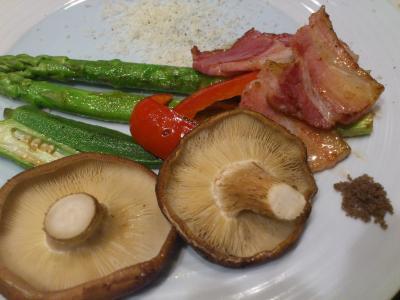 2野菜のグリル