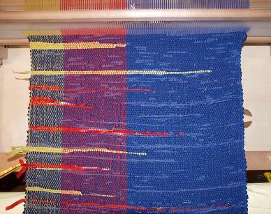 064 挟み織り