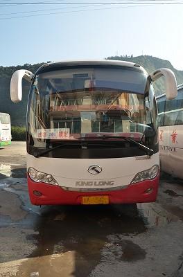 026成都からバスに乗り康定へ。
