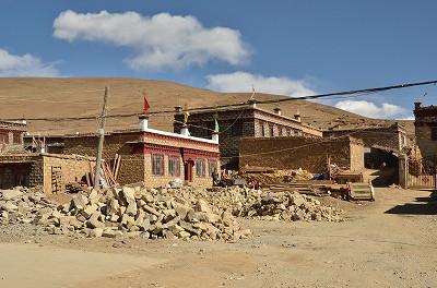 151お寺までの風景。
