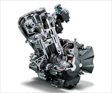 CBR250Rエンジン