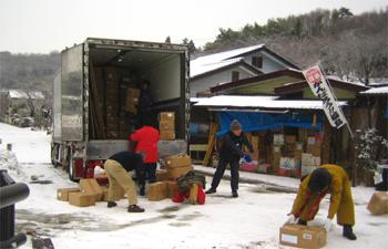 大型トラック1台 006
