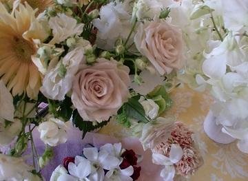 *お花は嬉しいね*