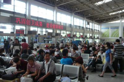 107 杭州バスターミナル