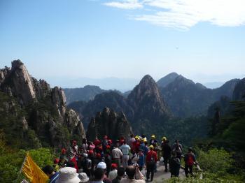 187黄山絶景3