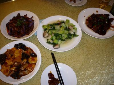 252杭州で夕食
