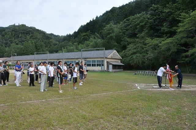 盆ソフトボール2010開会式