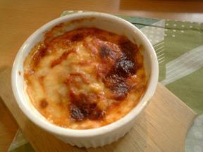 アペゼ③トマト煮込みハンバーグドリア