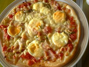 芋ほり③ピザ