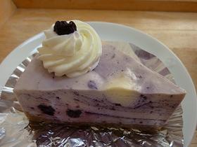 エクボ④ブルーベリーチーズケーキ