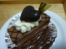 エクボ⑤生チョコケーキ