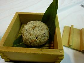 退職祝い⑥御飯、十五穀米