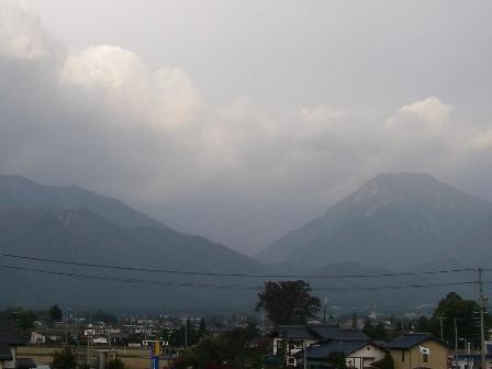 大天井岳(10月20日)