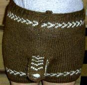 男の子だけの特別な毛糸のパンツだよ^^